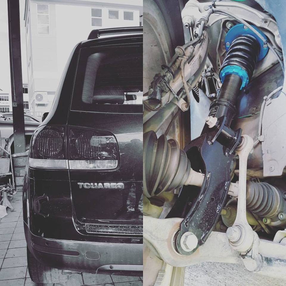 Kido Racing Coilover for VW Touareg 2 (Air Sus Conversion)